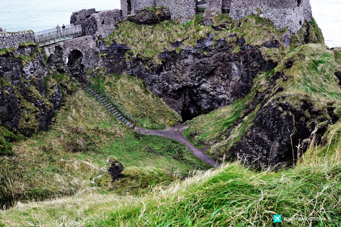 bowdywanders.com Singapore Travel Blog Philippines Photo :: Northern Ireland :: Dunluce Castle, Northern Ireland: Fancy Some Scones or Some Northern Lights?