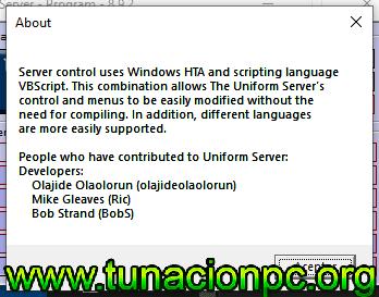 Uniform Server Full con Licencias