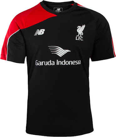innovative design c2f5a 63361 New Balance Liverpool 15-16 Training Shirts Released - Footy ...
