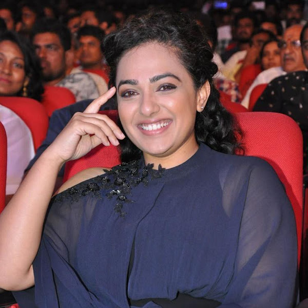 Nithya Menon latest photos from Janatha Garage audio launch
