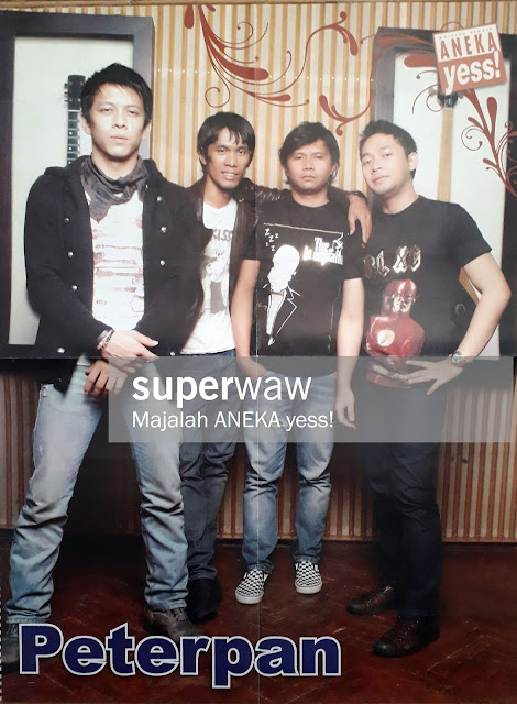 BAND PETERPAN ARIEL LUKMAN REZA UKI