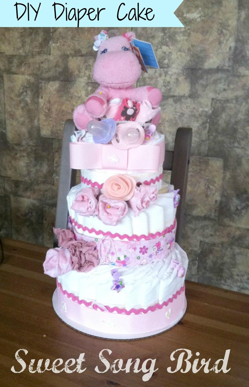 Evey S Creations Diy Diaper Cakes