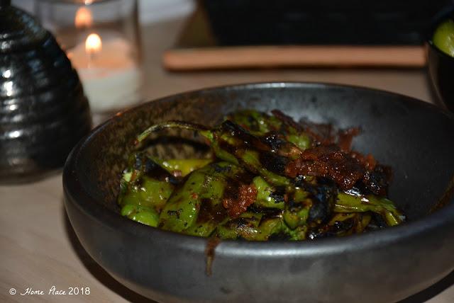OKO Restaurant - Shishito Peppers