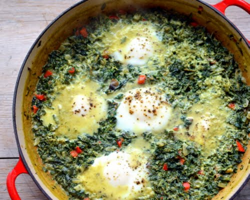 Spin Dip Baked Eggs ♥