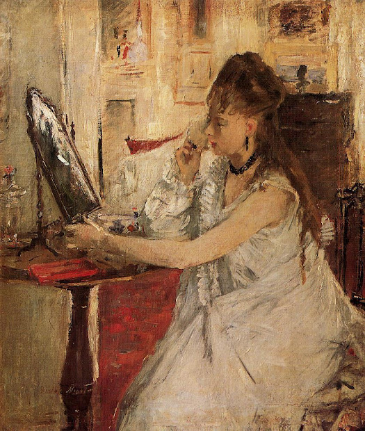 Berthe Morisot Young Woman