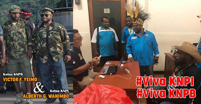 Alberth Wanimbo Senior KNPB, Sekarang Menjadi Ketua KNPI