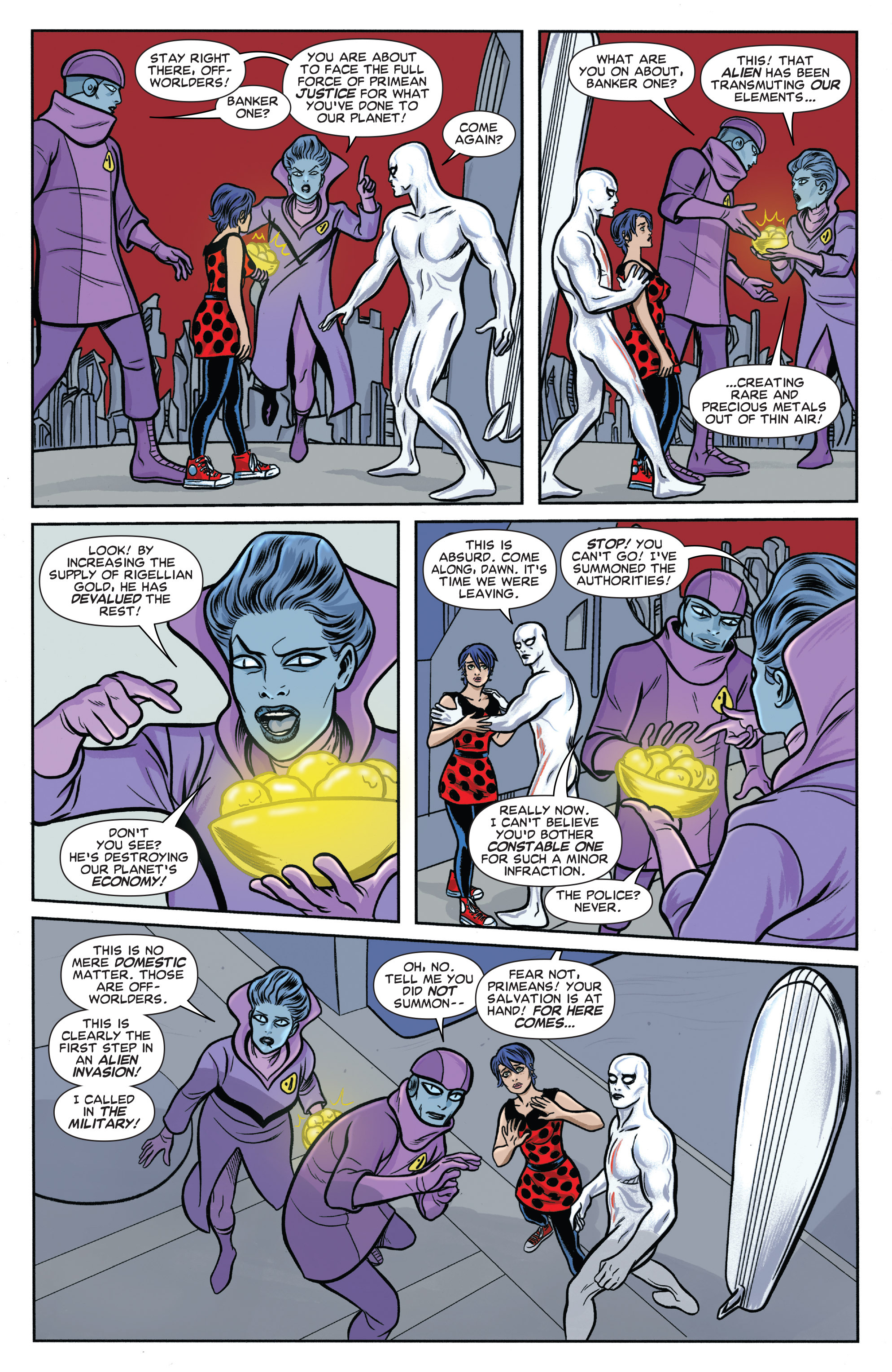Read online Silver Surfer (2014) comic -  Issue #6 - 12