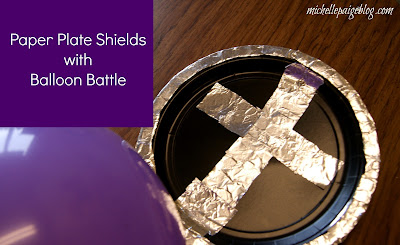 Shield of Faith Sunday School Craft @michellepaigeblogs.com