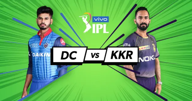 DC vs KKR Live Scorecard Watch Ball to Ball Live Score Update : IPL 2019 Live Score