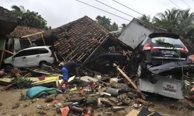 Musibah Tsunami Banten