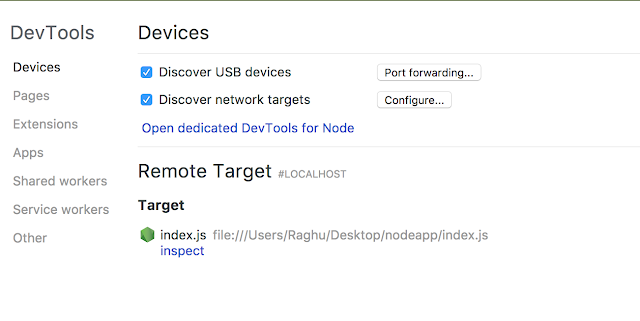 Set Breakpoints and Debug a Node Application With Chrome