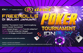 Judi Turnamen Poker Online Server IDN Play QDewi.net