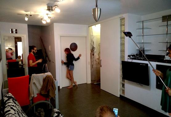 Montserrat Iranzo a la Casa de l'Artista