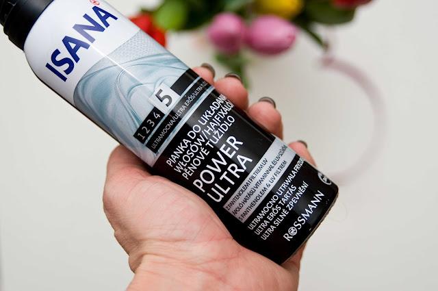 Pianka Isana Power Ultra do układania włosów