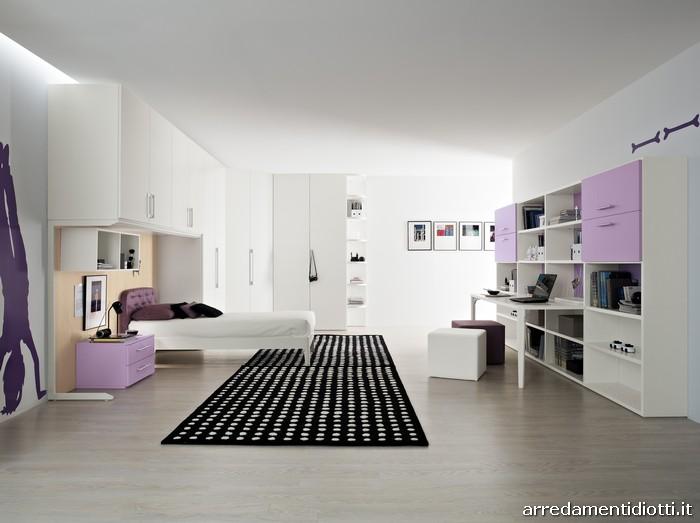 Arredamenti diotti a f il blog su mobili ed arredamento d 39 interni - Arredamento camera ragazza ...