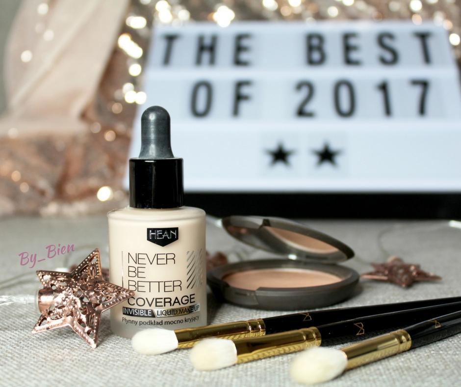 Kosmetyczne podsumowanie 2017 roku - ulubieńcy w makijażu