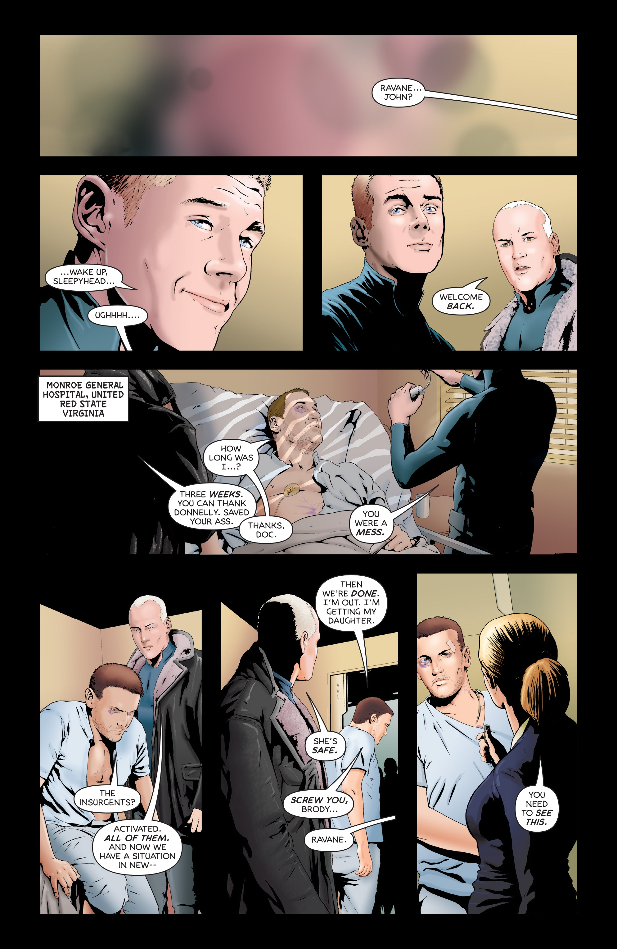 Read online Failsafe comic -  Issue #3 - 8