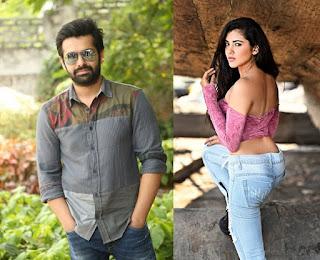Ram to Romance with Malvika Sharma for His Next Movie