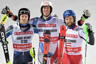 Copa do Mundo de Esqui Alpino masculina 2018/2019 - Etapa de Estocolmo: Zenhaeusern ganha na Suécia