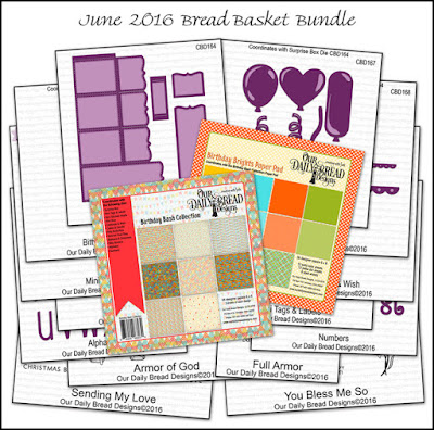 Our Daily Bread Designs June 2016 Bread Basket Bundle