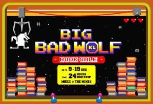 BIG BAD WOLF (BBW) pada 9-19 Disember 2016 di The Mines !