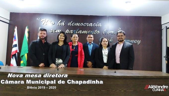 Vera Lúcia é reeleita presidente da Câmara Municipal de Chapadinha paro o biênio 2019-2020.