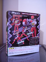 SH Figuarts Kyoryu Red from the Super Sentai series Zyuden Sentai Kyoryuger