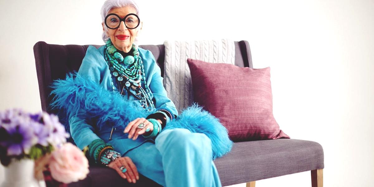 Alter, sehen die toll aus...! Iris Apfel, 94 years old