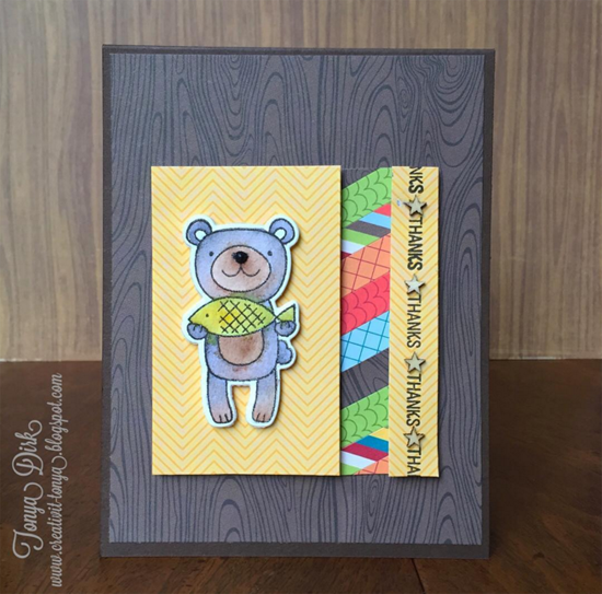 Warm & Fuzzy Friends Card Kit - Tonya Dirk #mftstamps
