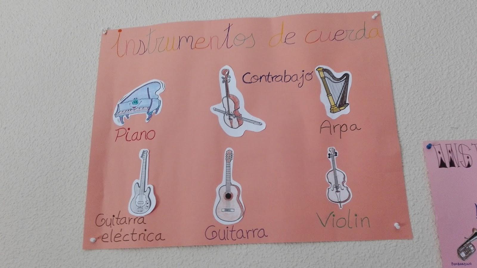 La Pasion De La Docencia Murales De Instrumentos Musicales