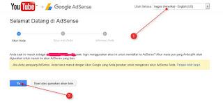 langkah daftar adsense 3