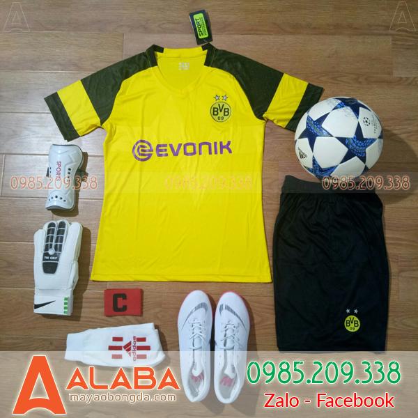 Áo đấu CLB Dortmund 2019 sân nhà màu vàng đẹp