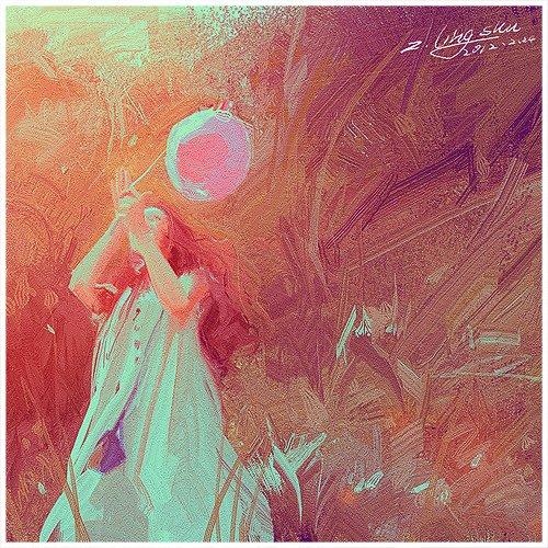 Z. Ling Shu shushuhome deviantart pinturas aquarelas e digitais mulheres