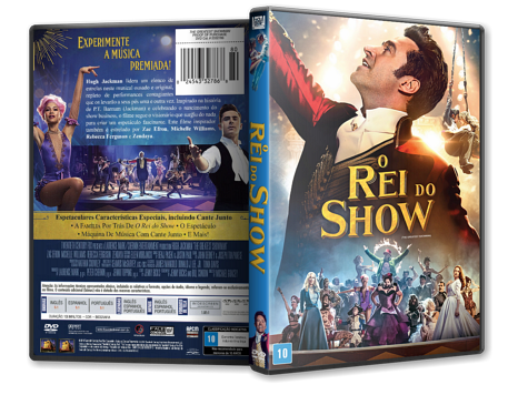 Capa DVD O Rei do Show [Custom]