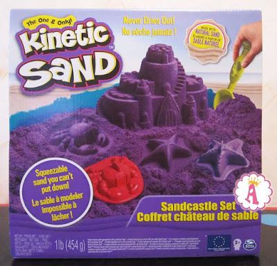Коробка с кинетическим песком