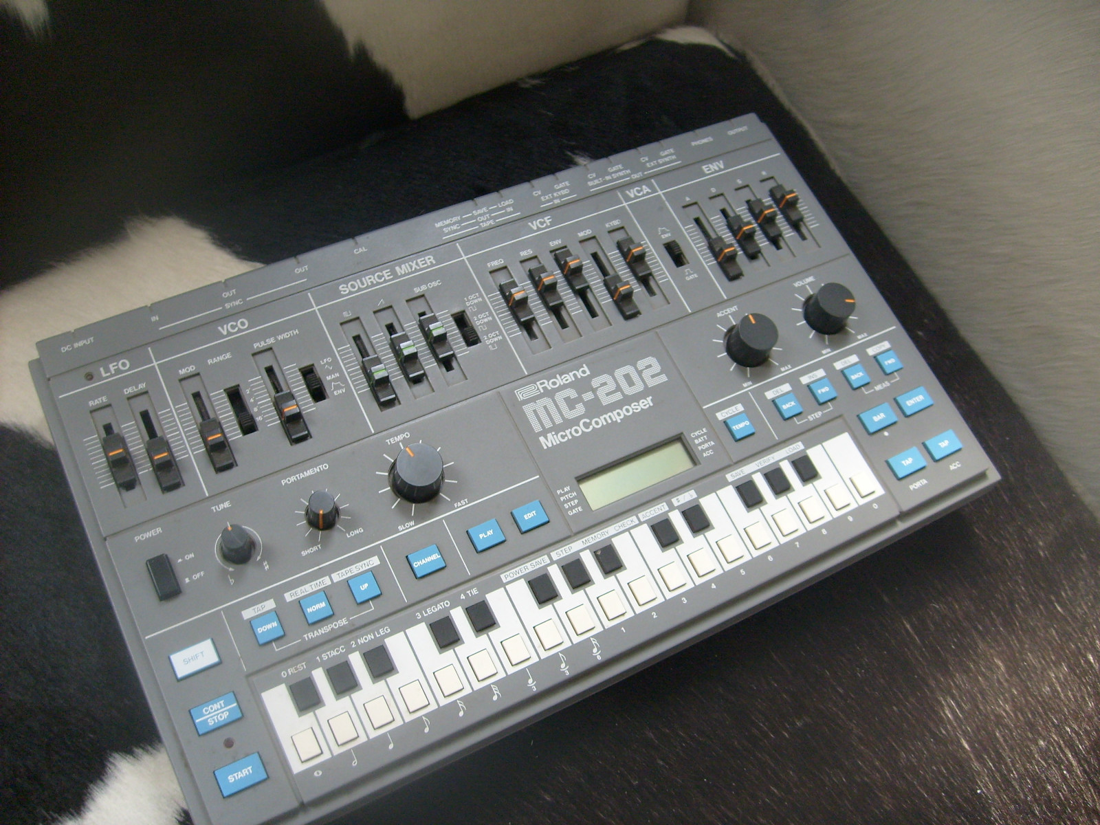 Roland mc-50 mkii micro composer setup 2 units, power | reverb.