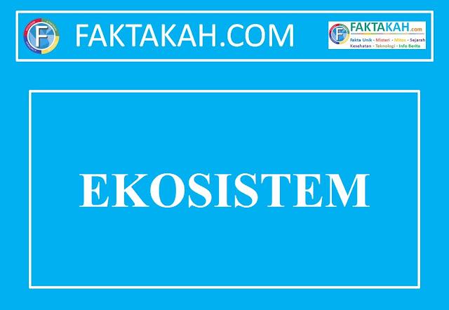 Ekosistem: Pengertian, Komponen, Macam dan Contoh Ekosistem