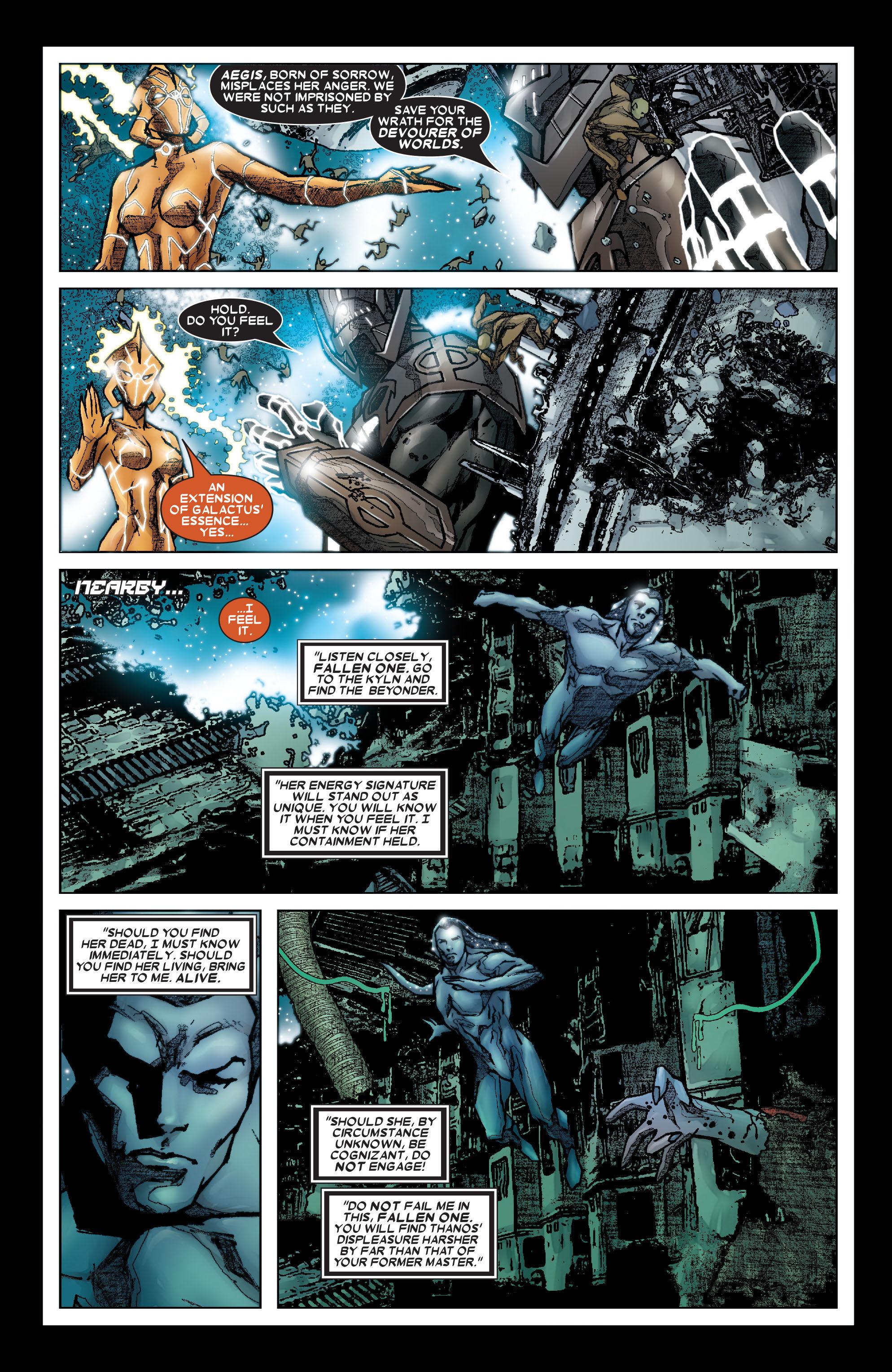 Read online Annihilation: Silver Surfer comic -  Issue #3 - 4