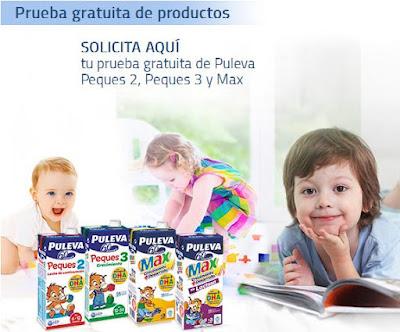 Muestras gratis Puleva Peques y Max