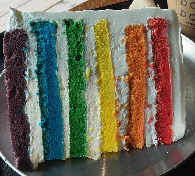 Tarta Arco Iris Para El Día Del Orgullo Lgtbi.