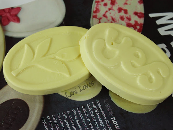 LUSH Shades of Earl Grey and Yes Yes Yes Massage Bars Review