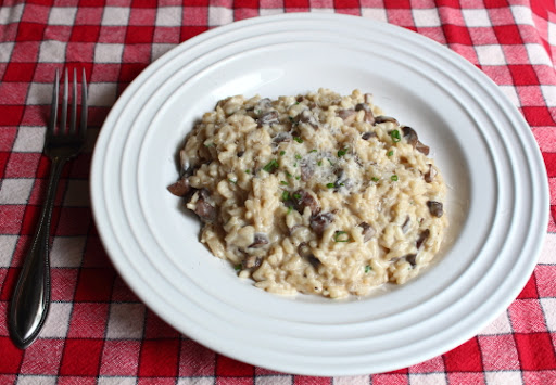 Baked Mushroom Risotto – With Video