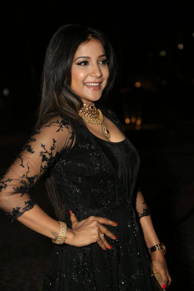 Sakshi Agarwal At 64th JIo Filmfare Awards 2017 Stills