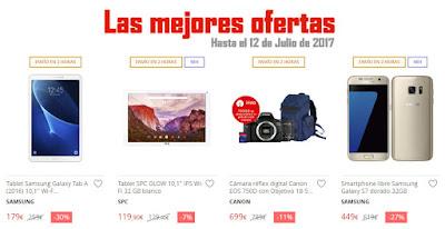 Las mejores ofertas hasta el 12 de julio de 2017 de El Corte Inglés