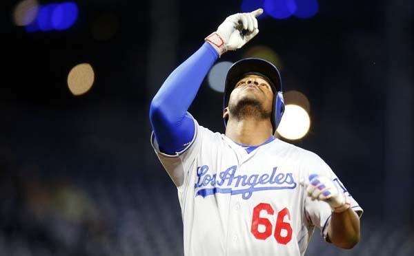 El cubano Puig inauguró el cuarto inning con su séptimo bambinazo de la temporada