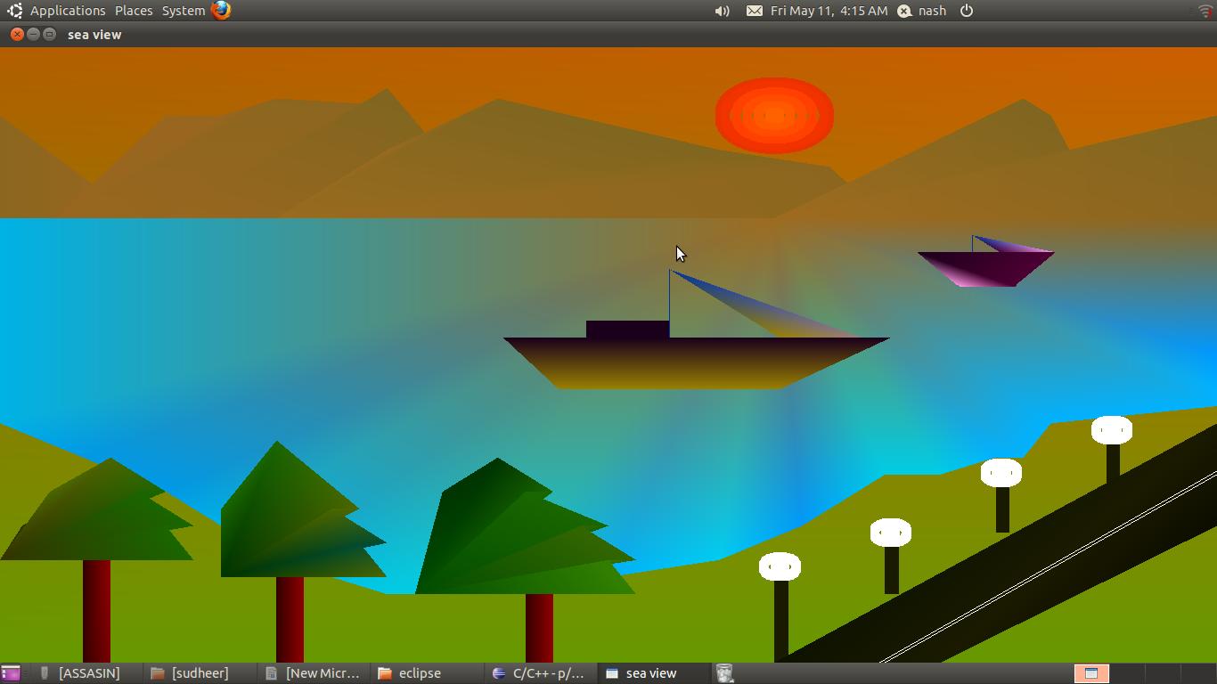 Graphics, Game Development and Digital Art: Sea View