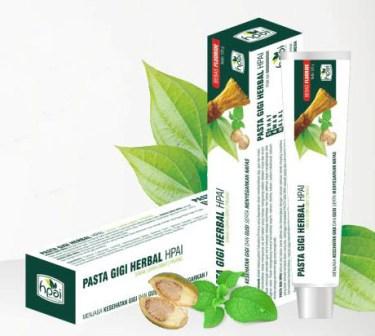 Pasta Gigi Herbal – Untuk Gigi Kuat dan Bersih (BPOM)