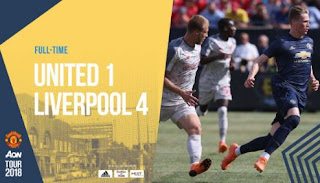Manchester United vs Liverpool 1-4  ICC 2018