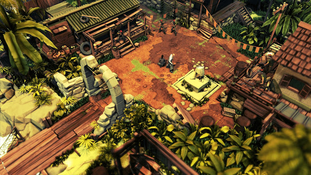 Jagged Alliance Rage - Hazardous waste jungle
