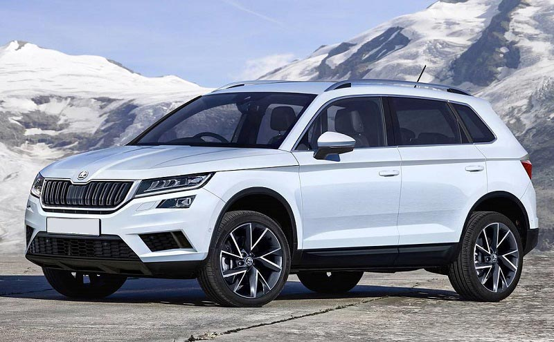 skoda karoq is a completely new compact suv car reviews new car pictures for 2018 2019. Black Bedroom Furniture Sets. Home Design Ideas